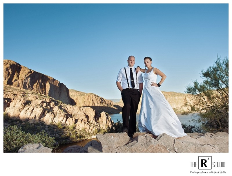 Arizona trash the dress