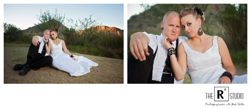 phoenix trash the dress