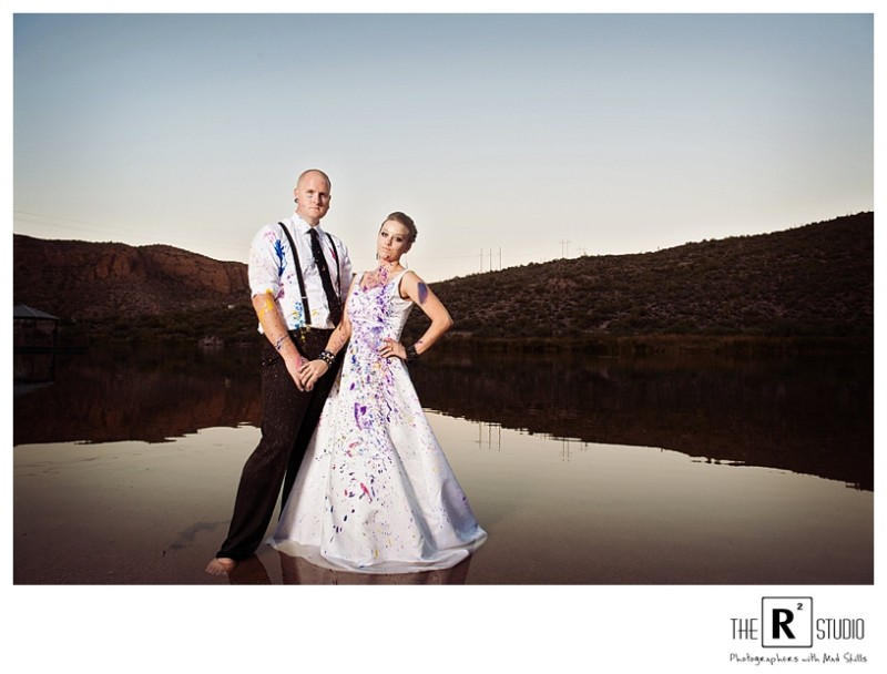Canyon lake trash the dress