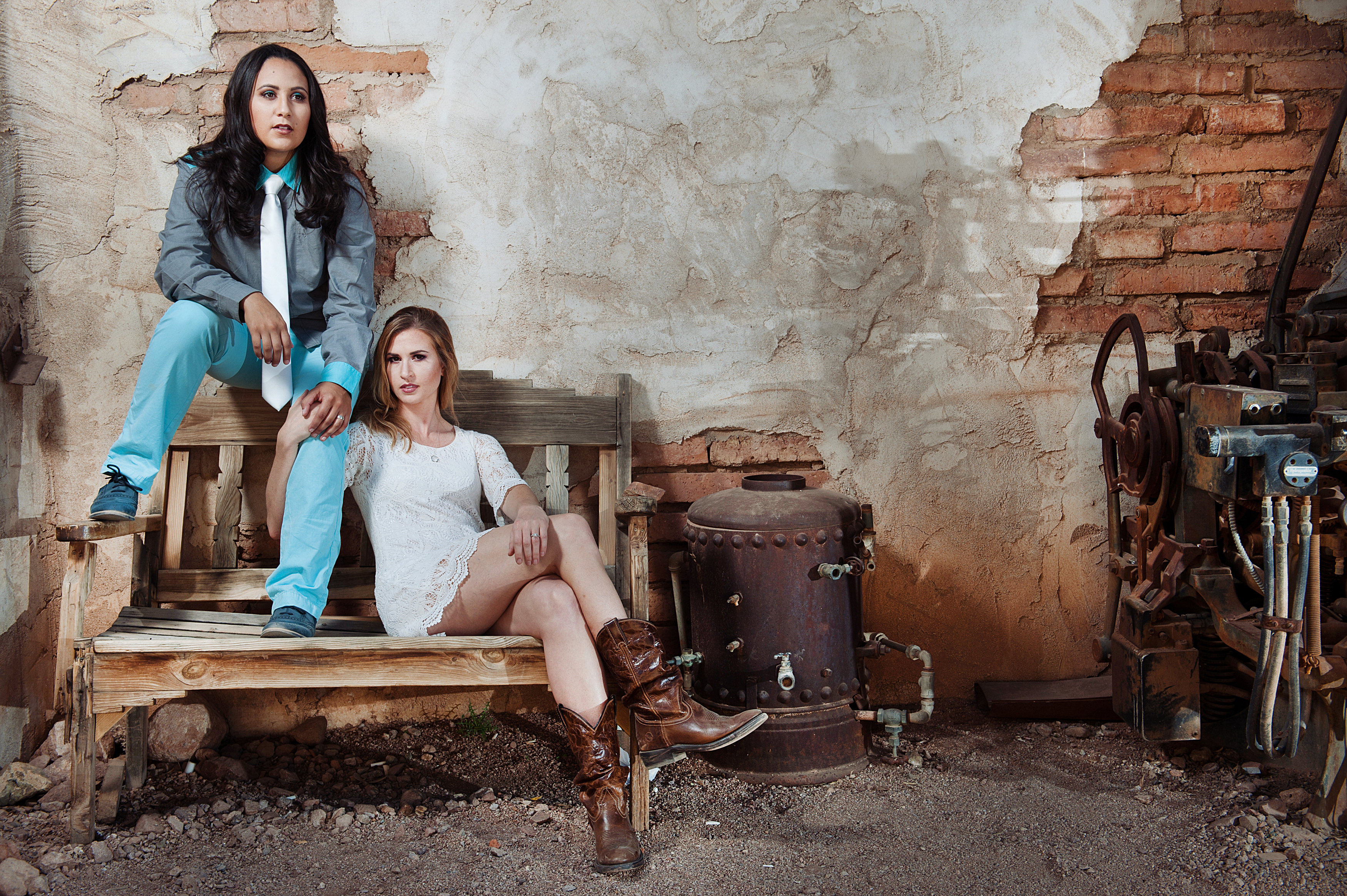 Lindsey & Shelley | Vogue Session