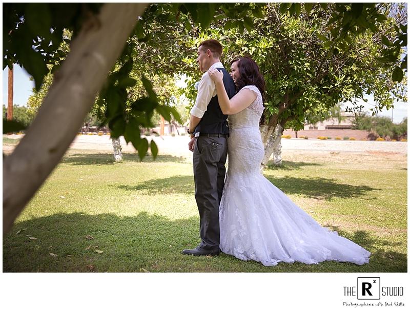 phoenix backyard wedding photographer