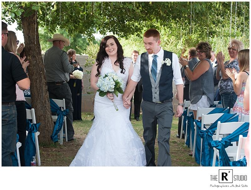 phoenix backyard wedding