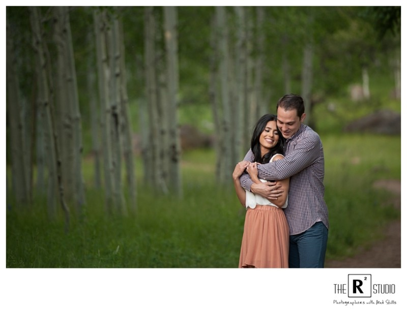 flagstaff summer engagement session