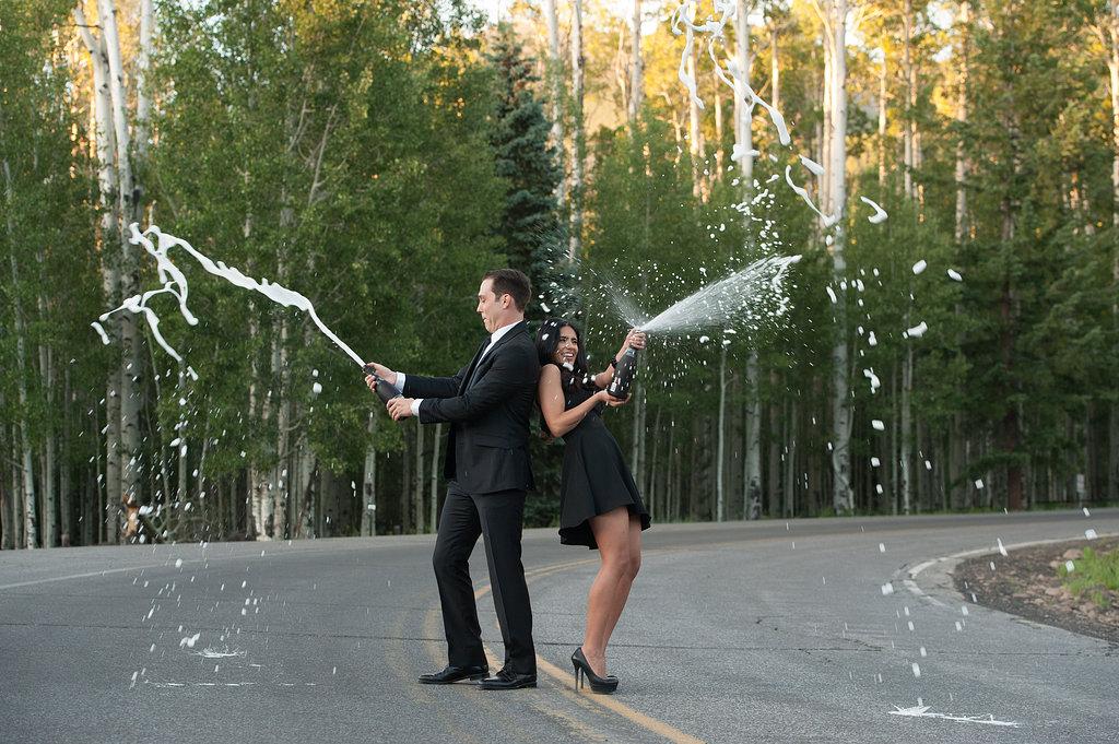 Denisse & Cody | Summer Flagstaff Engagement Session | Flagstaff, AZ