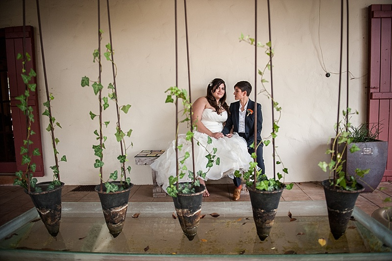 Shemer art center wedding photo
