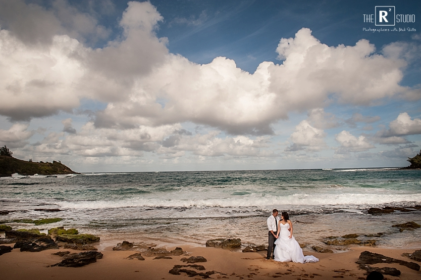 Andrea & Sean's Vogue Session | Kauai, Hawaii Wedding| The R2 Studio