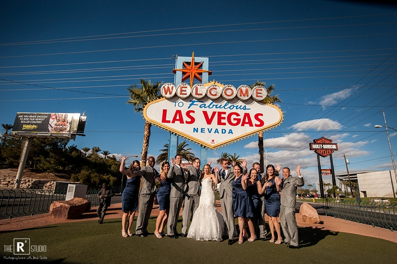 las vegas wedding photos