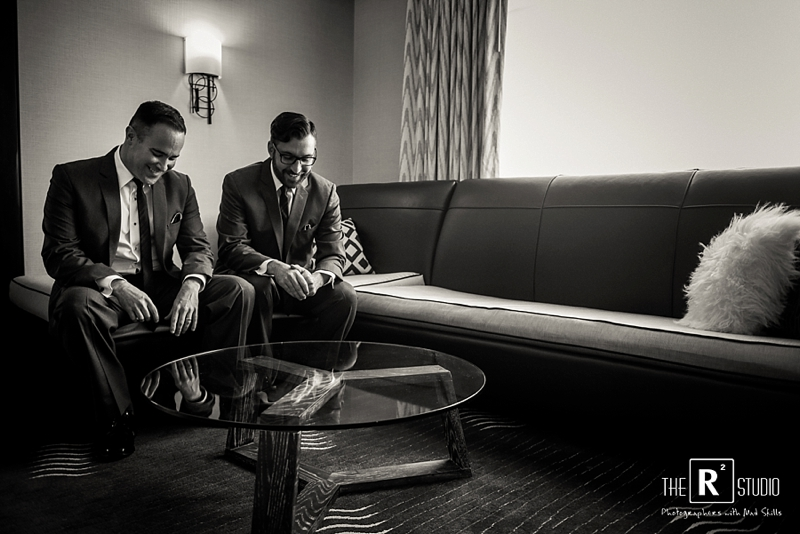 hotel palomar gay wedding photos