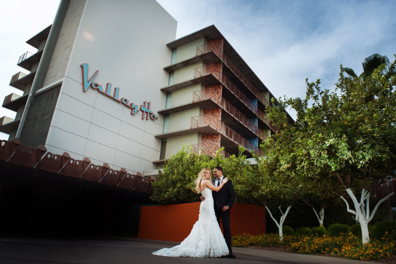 Hotel valley ho wedding